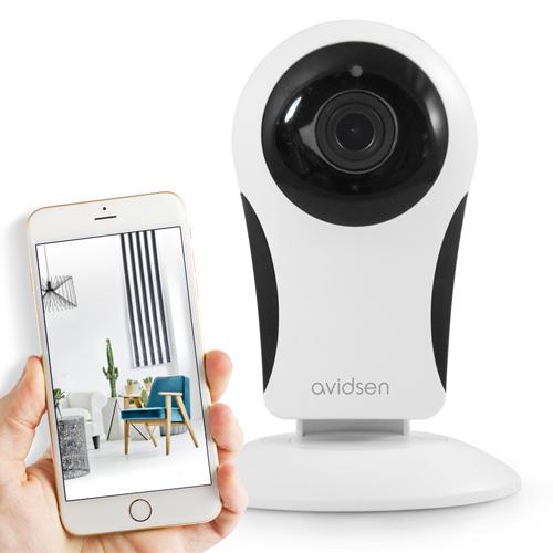 Caméra de surveillance intérieure Avidsen IP Wifi 720 P