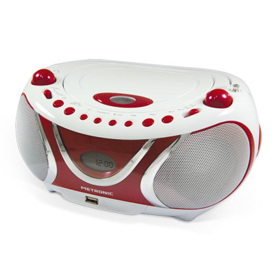 "Radio CD MP3 port USB fonction ID3 ""Cherry"""