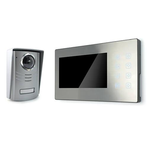 Interphone Vidéo couleur - Liaison 4 fils -  À mémoire d'images