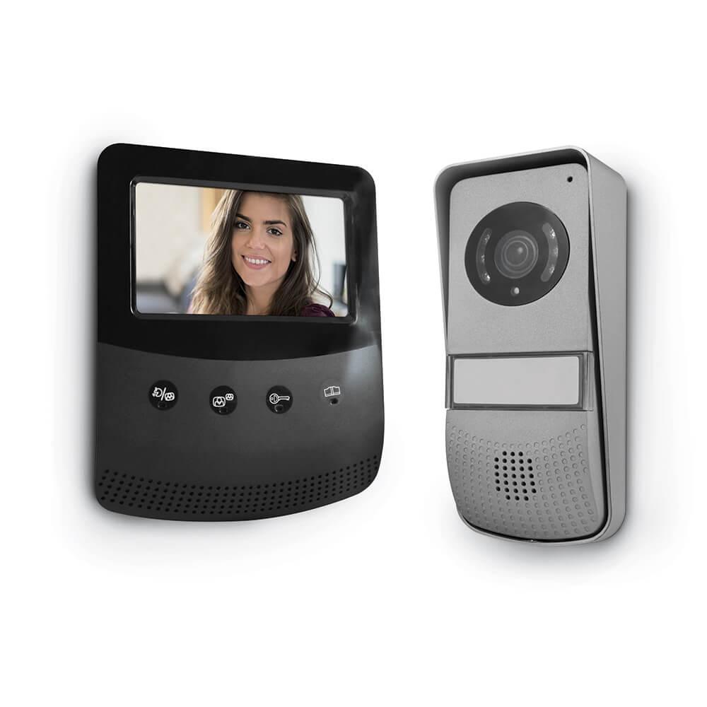 Interphone vidéo design Maisonic – écran LCD