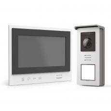 Visiophone sans fil simple à installer avec écran nomade sur batterie - Thomson Air