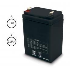 Batterie de secours 2200 mAh pour les motorisations de portail battant en 12 Volts