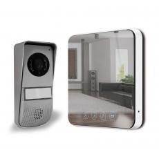 "Visiophone Quattro 2 - ultra plat design ""effet miroir"""