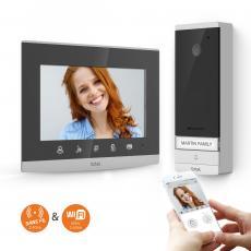 Visiophone sans fil longue portée 350m et connecté - 2,4 Ghz et 5 Ghz - Extel Wave