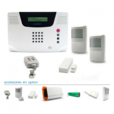 Kit alarme sans fil multi-zones