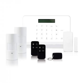 Alarme sans fil Skyda avec détecteurs de mouvement et d'ouverture