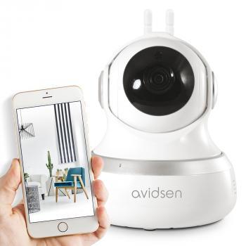 Caméra de surveillance motorisée intérieure IP Wifi 720 P - 360° - Protect Home