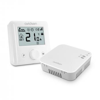 Avidsen HomeFlow WL : le thermostat sans fil connecté pour chaudières à gaz, fioul et pompe à chaleur non réversible