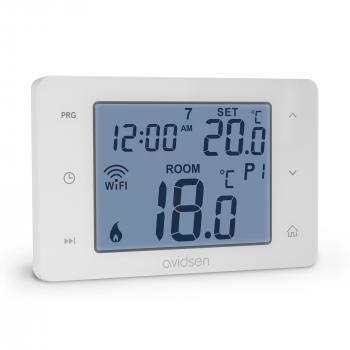 HomeFlow : Thermostat filaire (évolutif sans fil) connecté pour chaudière