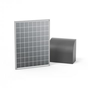 Kit alimentation solaire 12 V et 24 Volts pour toutes marques de portail