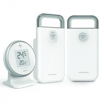 Thomson - Thermostat Cali-ON sans fil pour radiateur électrique