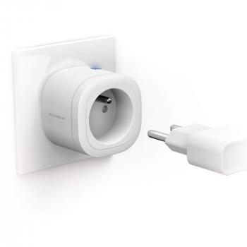 Prise connectée WiFi intérieure compatible Alexa et Google Home - PLUG-I