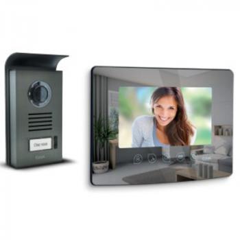 Visiophone filaire Extel Mombo avec effet miroir – Ouverture portail et portillon