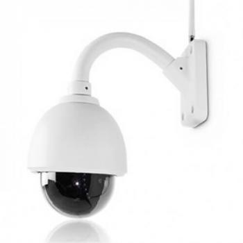 Caméra IP dôme PTZ WiFi 960p usage extérieur pour l'application ThomView