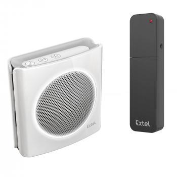 diBi More : Extension / répéteur de sonnerie universelle sans fil pour 'transporter' une sonnerie de carillon ou visiophone