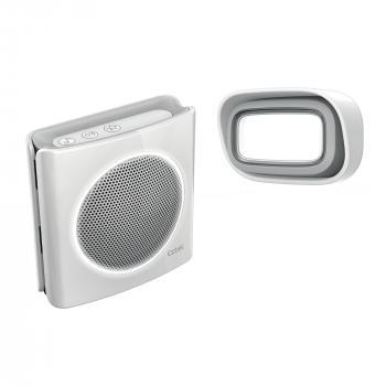 Carillon à brancher sur prise - sonnette sans fil 200m diBi MP3
