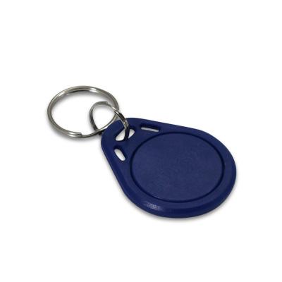 Badge d'accès bleu
