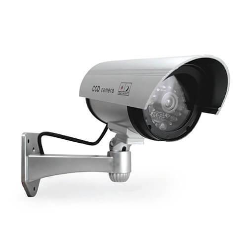 Caméra de surveillance factice avec voyant lumineux