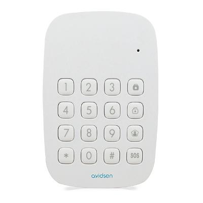 Clavier à code et lecteur badge RFID sans fil skyda - Avidsen