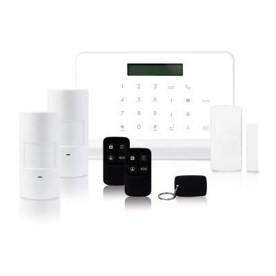 Kit Centrale d'alarme sans fil avec transmetteur RTC/ GSM
