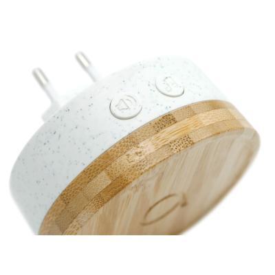 Carillon a brancher écologique avec bouton sans fil sans pile profil - Bamboo - Avidsen
