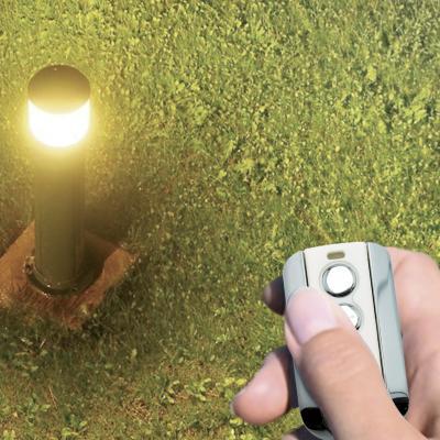 Boitier de commande de lumière avec la télécommande du portail