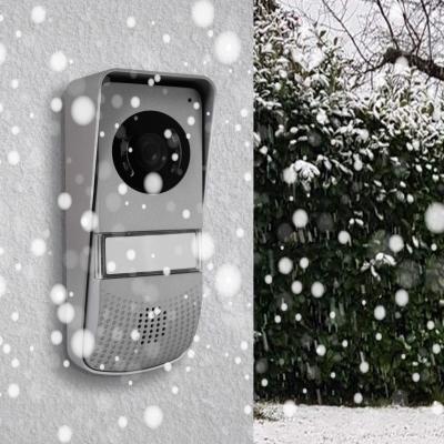 Platine de rue du visiophone Ylva résistante sous la neige
