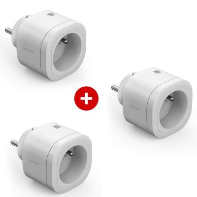 Lot de 3 prises connectées HomePlug gamme Avidsen Home