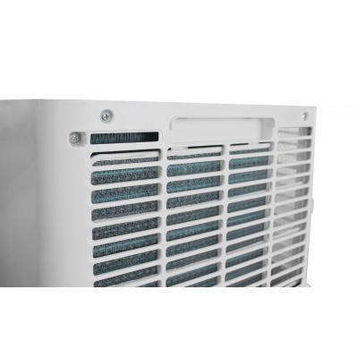 Vue arrière du climatiseur de maison