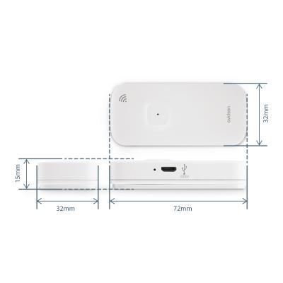Dimension du détecteur d'ouverture wifi Avidsen