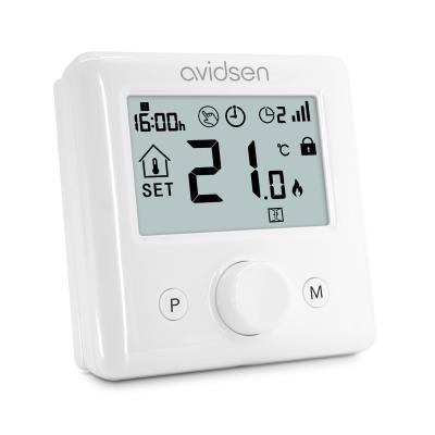 Thermostat wifi vue de côté