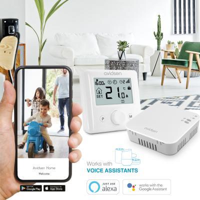 Thermostat wifi connecté pour chaudières