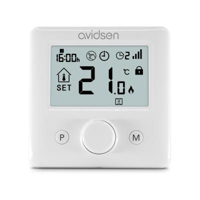 Thermostat wifi vue de face