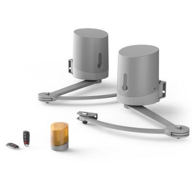 kit motorisation à bras easymate bily + 2 télécommandes + un feu clignotant