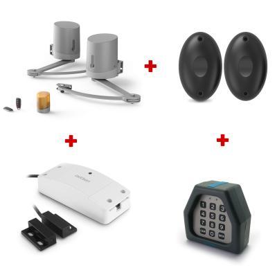 Kit motorisation Billy connect : Motorisation + photocellules + digicode + homegate