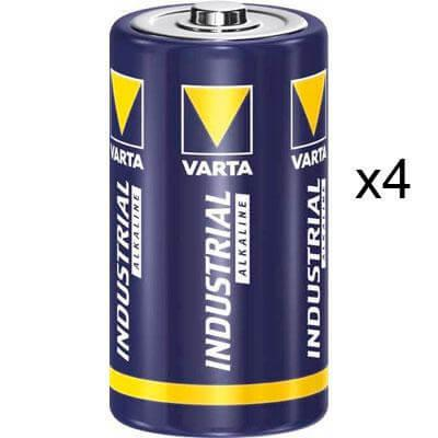 4 x Pile alcaline 1,5V LR20
