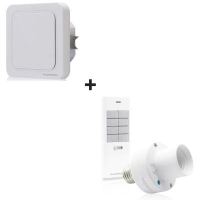 Kit douille, interrupteur et télécommande