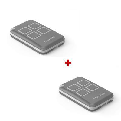 Télécommande pour motorisation de portail Thomson - Pack x2