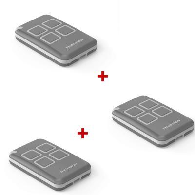 Télécommande pour motorisation de portail Thomson - Pack x3