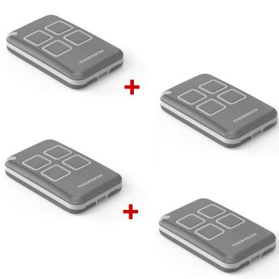 Télécommande pour motorisation de portail Thomson - Pack x4
