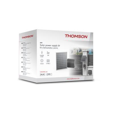 Carton du panneau solaire Thomson pour 12 et 24 Volts