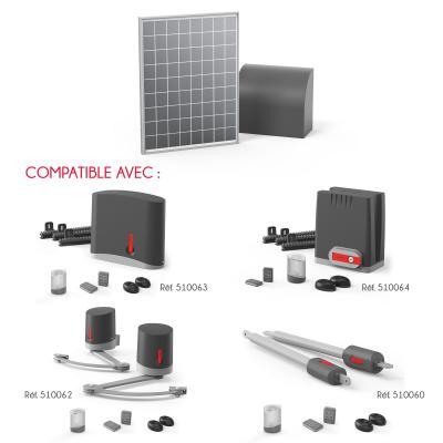 Compatibilité du panneau solaire 12 et 24 V