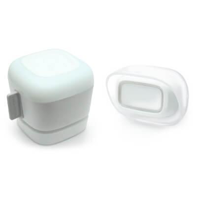 Sonnette sans fil 300m de portée + flash + MP3 Blanche - 513115 - Thomson