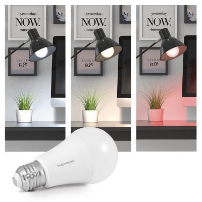 Ampoule connectée avec couleur différente