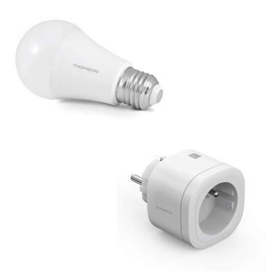 Ampoule connectée et prise connectée interieur