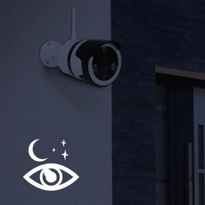 Caméra extérieure avec vision de nuit