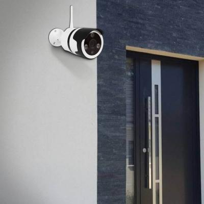 Caméra extérieure sur un mur