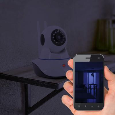 Vision de nuit avec la caméra Avidsen wifi