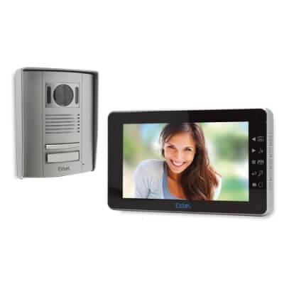 Visiophone Extel MEMO 2 (enregistrement des visiteurs)