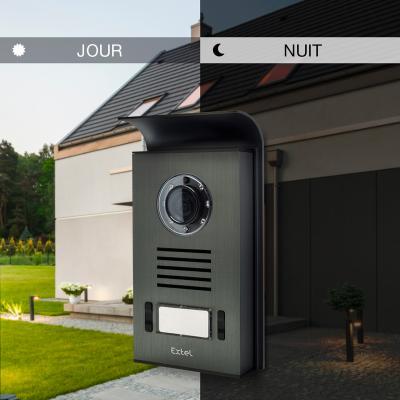 La caméra de rue de l'Extel Nova White permet de voir la nuit